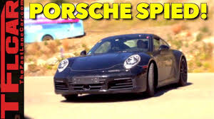 porsche prototype just listen to this new prototype porsche 911 spied in the wild