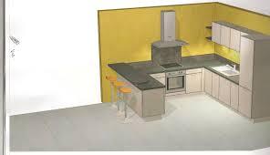 cuisine avec bar pour manger notre cuisine aménagée notre construction pas à pas