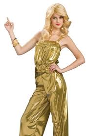 70s jumpsuit womens gold 70s disco jumpsuit retro womens costume