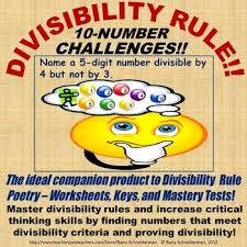 divisibility rule critical thinking 10 number challenge competitions