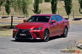 lexus gs 250 used car 2016 lexus gs 200t f sport review video performancedrive