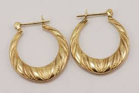 14 karat gold earrings gold earrings at thebrazilianconnection