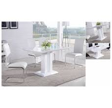 modern dining tables canada whi maxim dining chair set of 2 white 202 489wt modern
