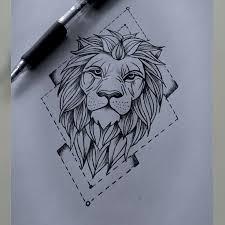 lion tattoo sketch danielhuscroft com
