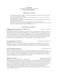 Resume Template Hospitality Industry Neat Design Concierge Resume 7 Hotel Template Resume Example
