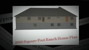 2000 square foot ranch floor plans 2000 square foot ranch house plan ranch house youtube