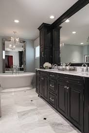diamond marble bathroom traditional with marble countertops black