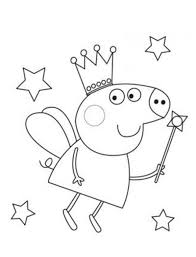 39 best peppa coloring pages images on pinterest pigs pig party