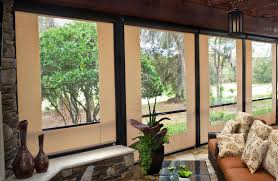 Clear Vinyl Roll Up Blinds Outdoor by Sunesta Patio Enclosure Shades Innovative Openings