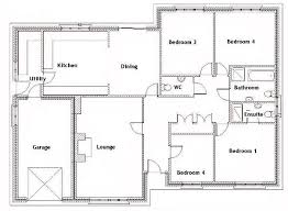 simple four bedroom house plans innovative innovative four bedroom house plans house floor plans 4