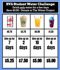 Water Challenge How Does It Work Rva Student Water Challenge