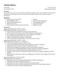 Hvac Resume Examples by Mechanical Electrician Resume Examples Job Duites