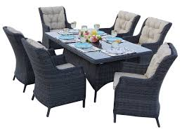 Outdoor Wicker Dining Set Darlee Outdoor Living Standard Valencia Wicker Dining Set