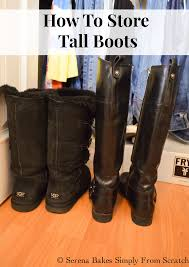 motorcycle boots store tuesday tips how to store tall boots serena bakes simply from