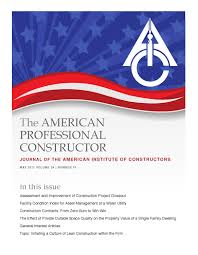 american professional constructor journal may 2011 by american