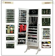 Free Standing Full Length Mirror Jewelry Armoire Mirror Jewelry Cabinet U2013 Designlee Me
