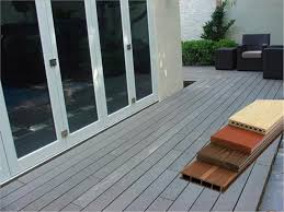 pvc powder and 30 wood powder wpc composite decking swimming pool