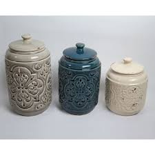 rustic kitchen canister sets drewderosedesigns rustic quilted 3 kitchen canister set
