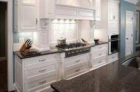 Quartz Kitchen Countertops Kitchen Fascinating White Illuminated Kitchen Cabinet With Quartz