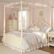 romantic canopy bed ideas white cotton mattress white cotton