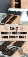 best 25 chocolate sour cream cake ideas on pinterest sour cream