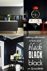 Trends In Home Design Remodelaholic Best Colors For Your Home Black