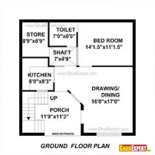 House Design For 150 Sq Meters House Plan For 30 By 30 Feet Plot First Floor Gharexpert Com