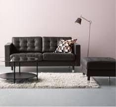 Ikea Sofa Leather Ikea Landskrona Leather Sofa Apartment Decor Pinterest