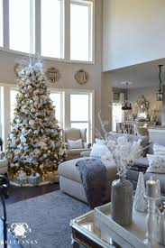 interesting 50 christmas living room decor pinterest decorating