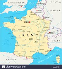 Andorra Map Maps Of France France Map Showing The Capital City Paris With
