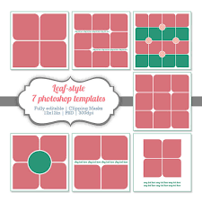 instant download photoshop templates digital collage storyboard