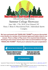 traveling teams images Hotel information northeast softball showcase png