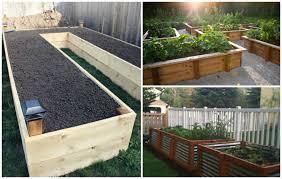 make eye catching garden by using raised garden bed ideas