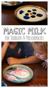 magic milk for toddlers and preschoolers with palmolive dish soap