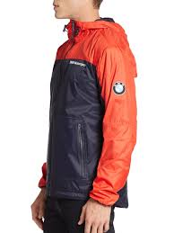bmw motorsport clothing bmw motorsport windbreaker in blue for lyst