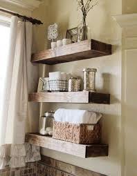 bathroom shelf decorations