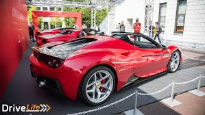ferrari j50 ferrari u0027s 70th anniversary celebrations lands in japan drive