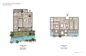 st regis los cabos proposal by sordo madaleno arquitectos situated at the foot of a mountain on residence typologies