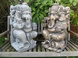 ornate ganesh statue garden ornament co uk garden