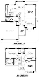 two story house plan home design modern 2 story house floor plans industrial large 3