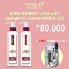 Shoo Makarizo Strawberry makarizo texture experience creambath strawberry yoghurt daftar