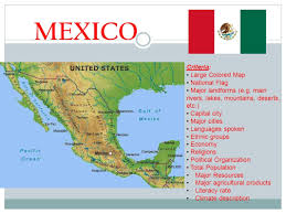 Oaxaca Mexico Map Us Map With Landforms United States Map With Capitals And
