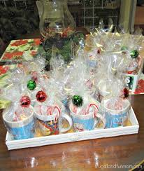 gift mugs with candy 16 semi christmas mugs gifts i made 25 dollars