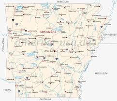 Arkansas Map Us Arkansas Usa The Natural State