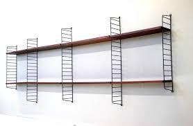 vintage on the shelf vintage string shelf rack system by nisse strinning for string
