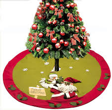 find more tree skirts information about santa claus snowman