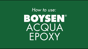how to use boysen acqua epoxy youtube