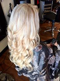 brown lowlights on bleach blonde hair pictures platinum blonde with carmel blonde lowlights hair by heather