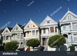 row houses victorian row houses san francisco stock photo 11213101 shutterstock