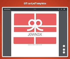 unique gift cards downloadable pdf gift card in prestashop with unique code